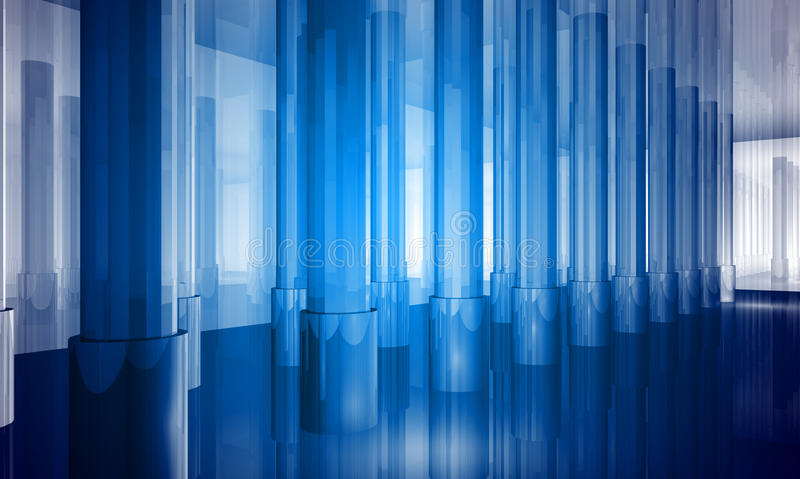 Download Indoor Building. Office Space Stock Illustration - Image: 14353916