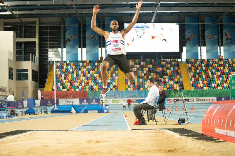 Indoor Cup Championships in Istanbul - Turkey. royalty free stock images