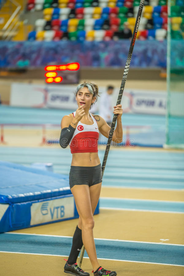 Indoor Cup Championships in Istanbul - Turkey. stock image
