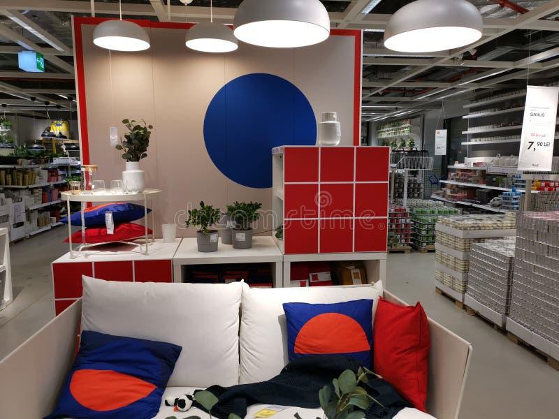 Indoor furniture design - Ikea store stock photo