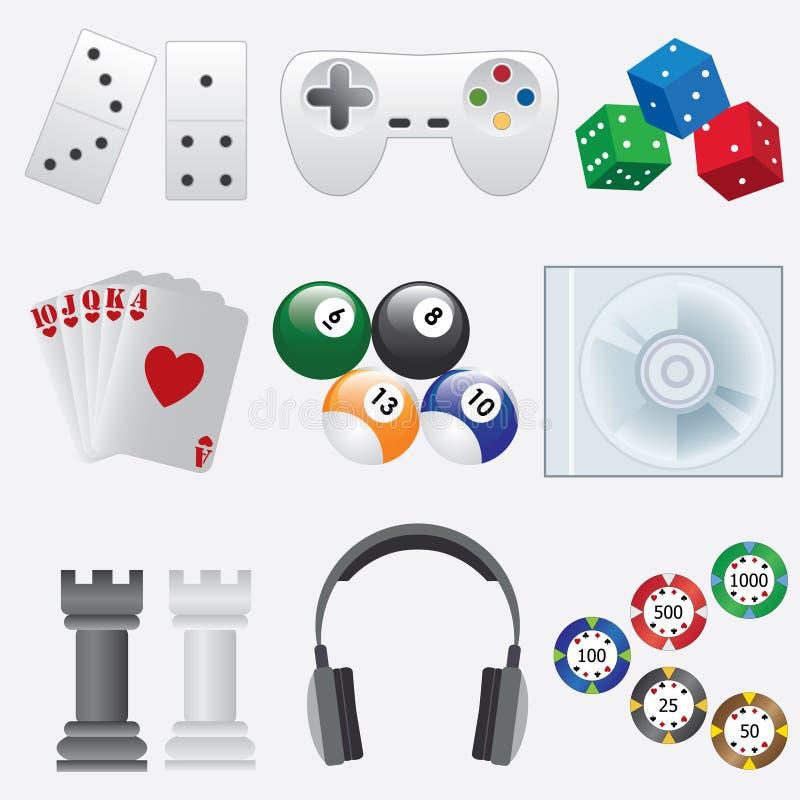 Download Indoor games. stock vector. Image of technology, billiard - 25408285