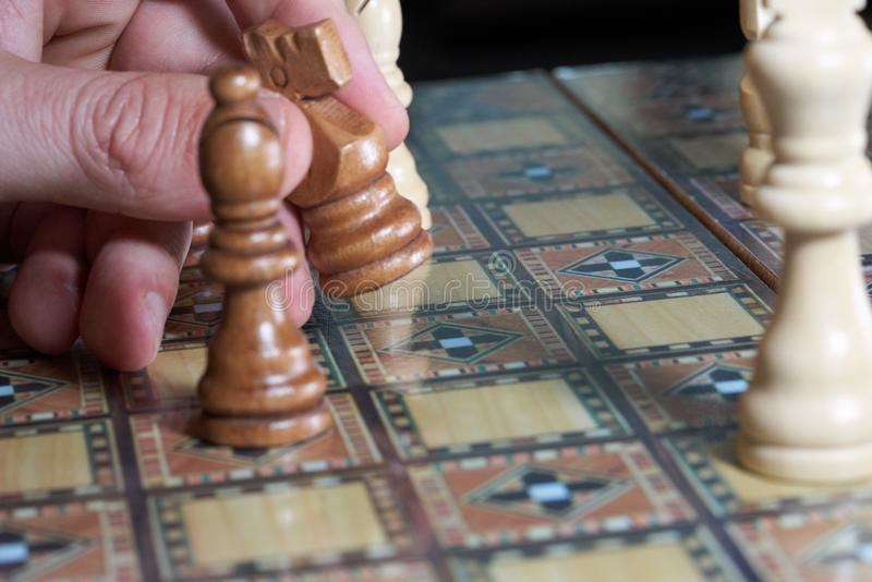 Indoor Games And Sports, Games, Board Game, Chess royalty free stock image