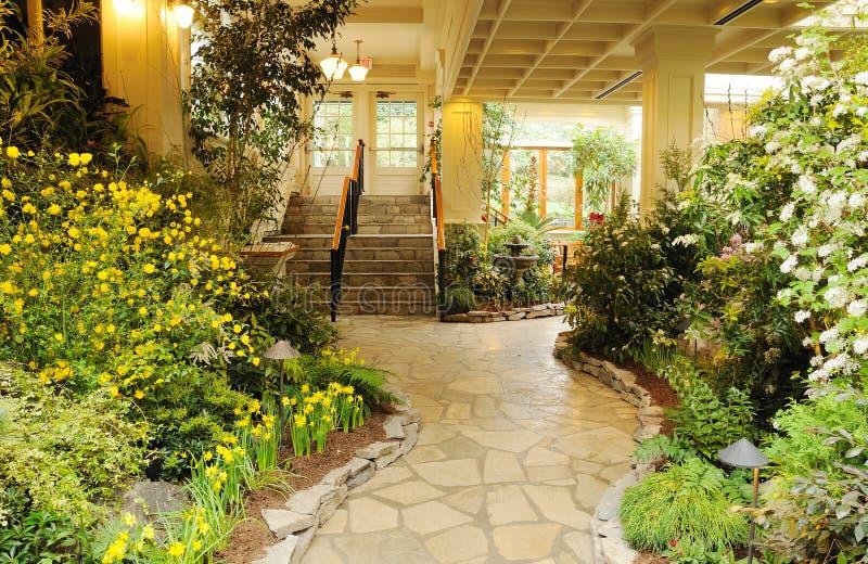 Indoor garden stock photo
