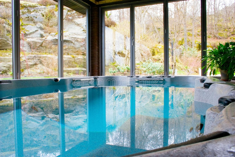 Download Indoor Pool stock photo. Image of holidays, lifeguard - 14116460