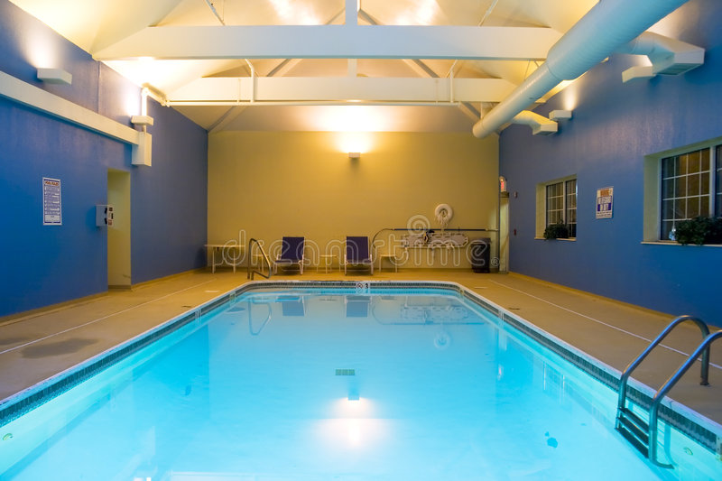 Download Indoor pool stock image. Image of still, lights, lounge - 2757473