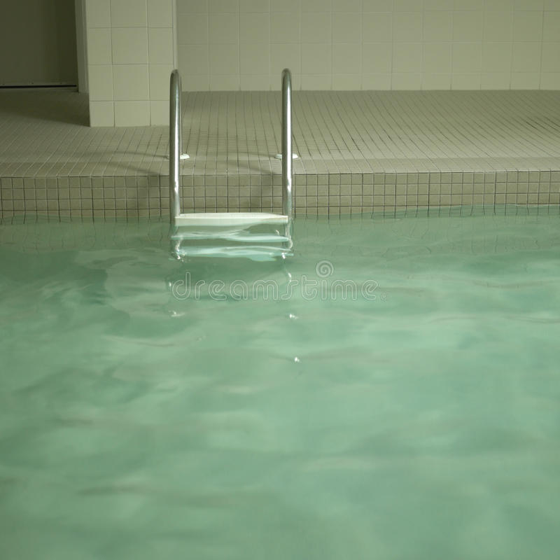 Download Indoor pool stock photo. Image of cool, slippery, ladder - 30790492