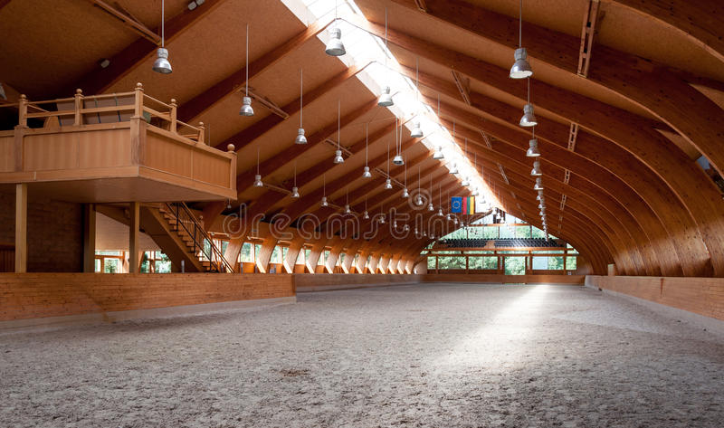 Download Indoor riding hall stock image. Image of size, riding - 33152045