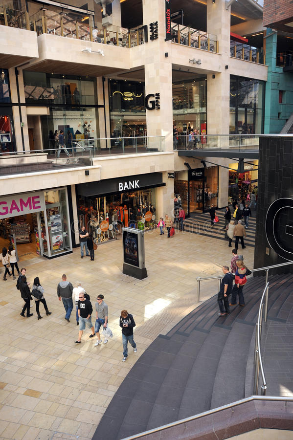 Download Indoor shopping mall editorial stock image. Image of outlet - 21610684