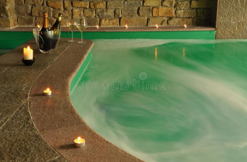 Download Indoor SPA Pool stock image. Image of interior, alcohol - 14263153