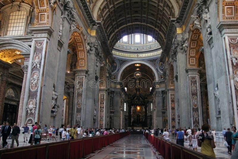 Download Indoor St. Peter's Basilica Editorial Stock Photo - Image: 26590963