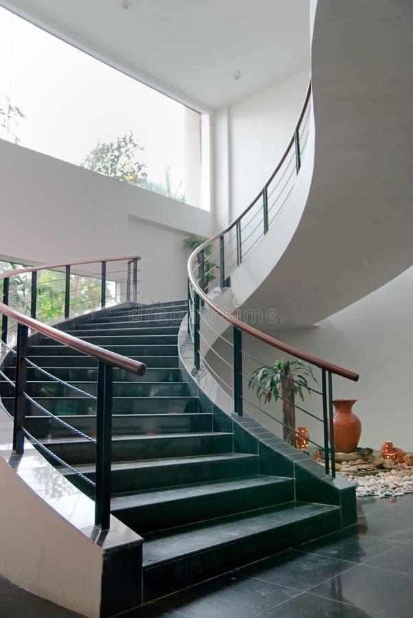 Indoor Stair stock photo
