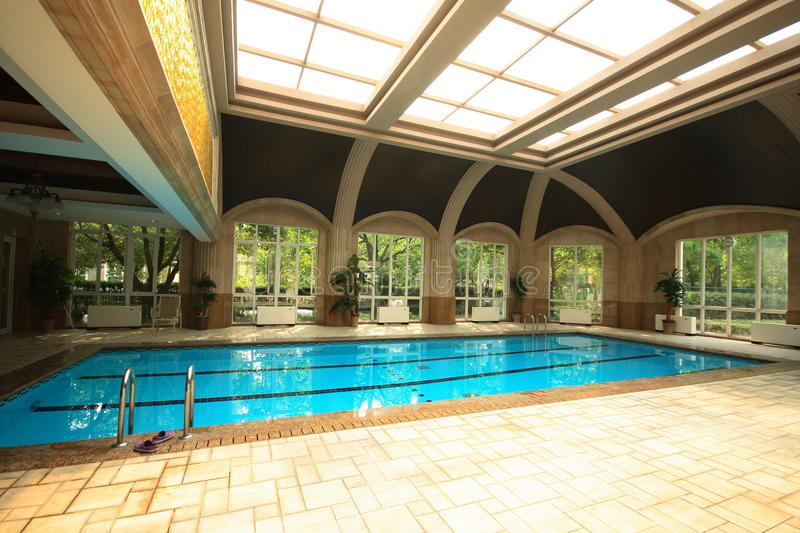Download Indoor Swimming Pool Royalty Free Stock Images - Image: 19881089