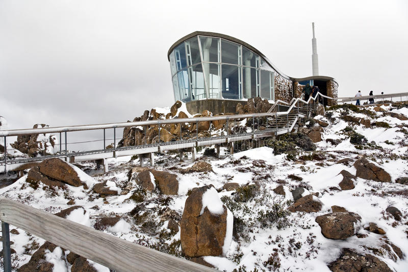 Download Indoor Viewing Room, Mount Wellington Royalty Free Stock Photography - Image: 16789787