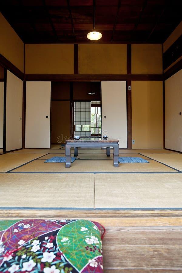 Indoor of wooden villa in  Japan