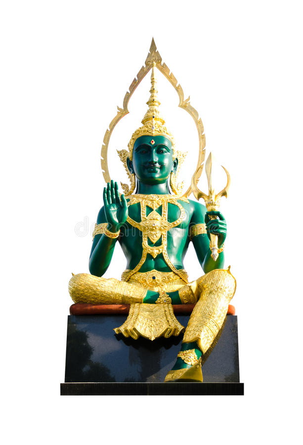 Indra. Is the name of the angel in Brahmanism - Hindu stock images
