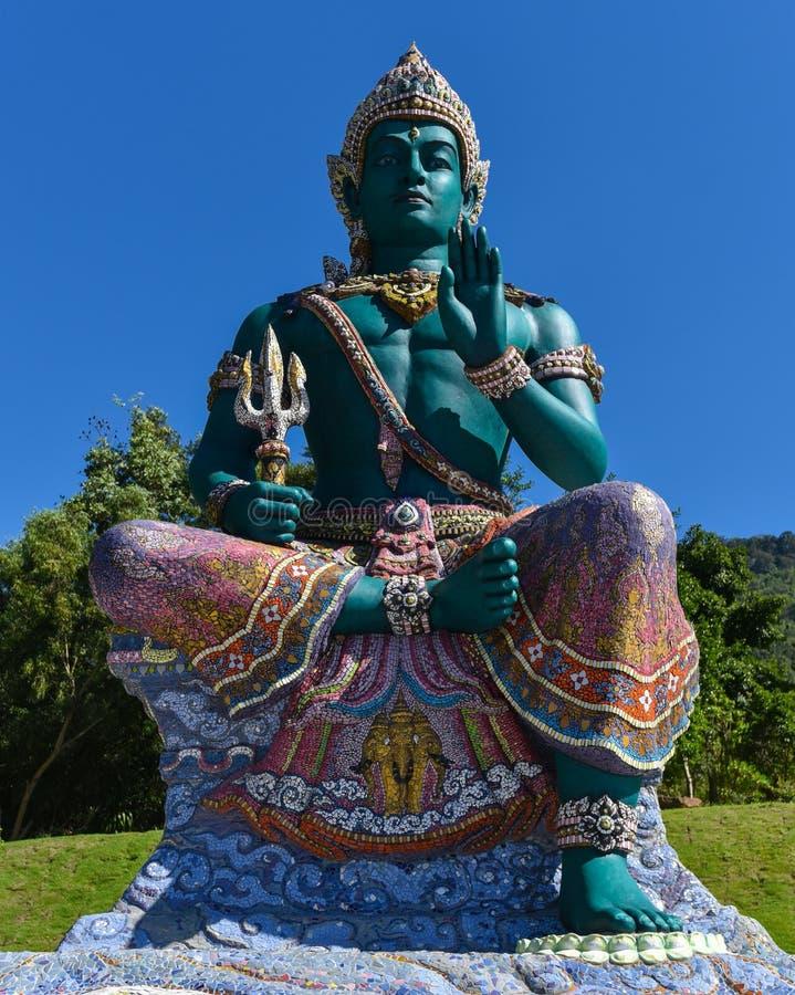 Indra da estátua fotos de stock