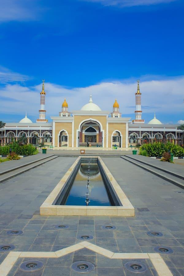 Indramayu西爪哇省印度尼西亚清真大寺  免版税库存图片