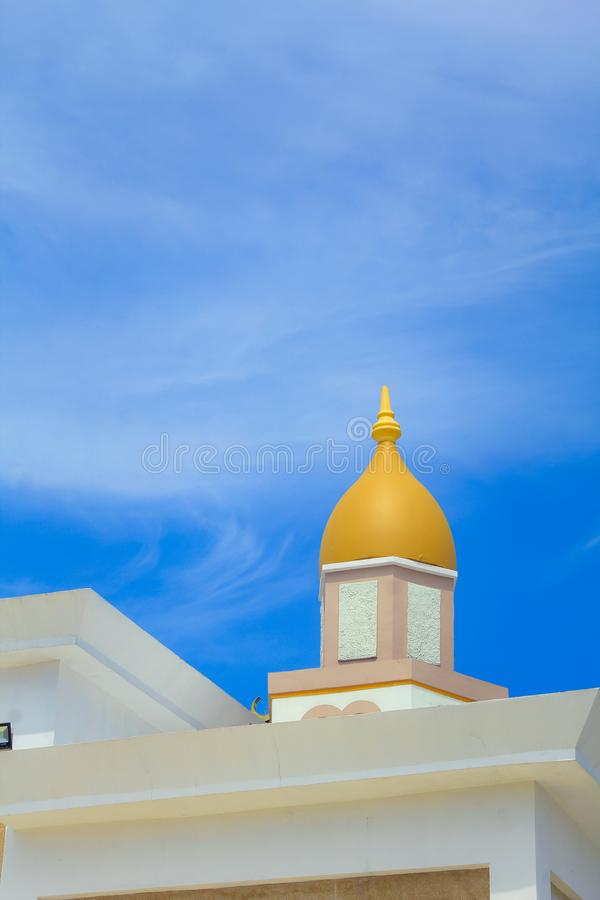 The Great Mosque of Indramayu West Java Indonesia stock photo