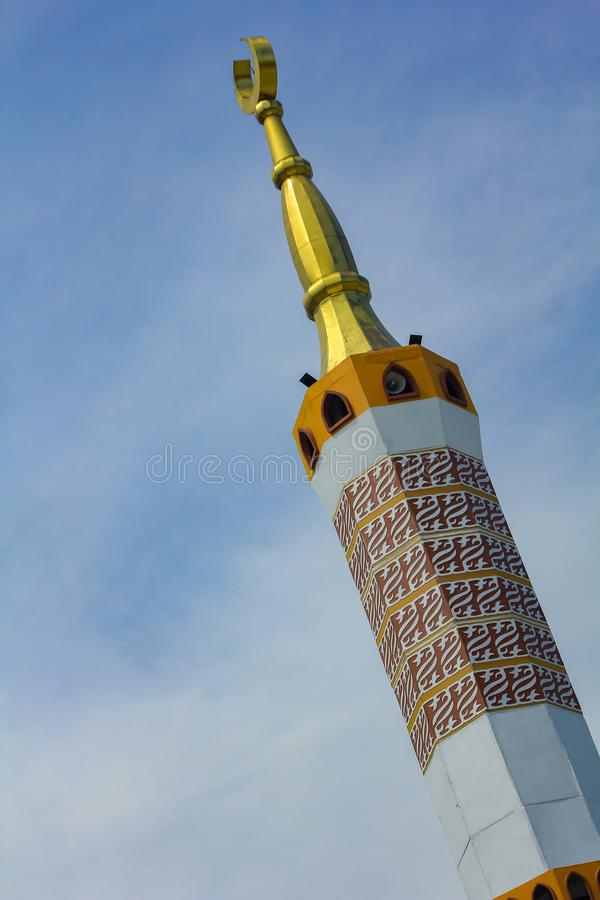 The Great Mosque of Indramayu West Java Indonesia royalty free stock image
