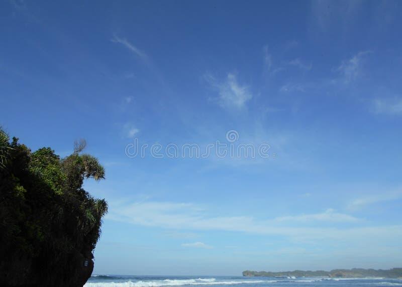 Indrayanti-Strand lizenzfreie stockbilder