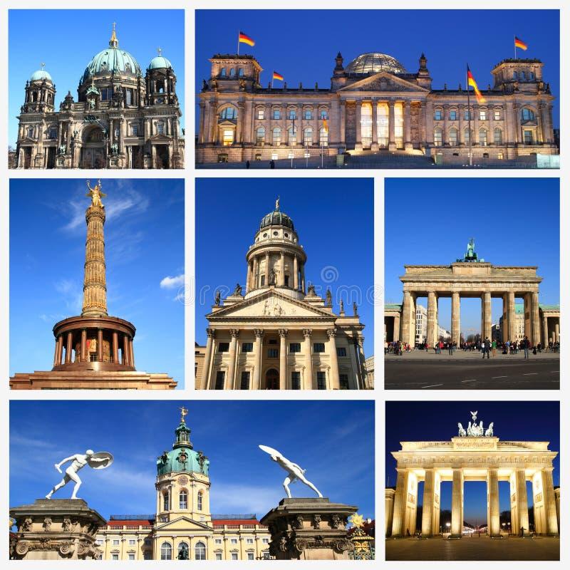 Indrukken van Berlijn stock foto