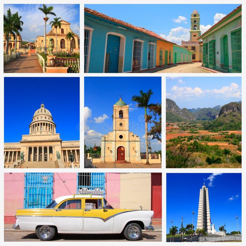 Indrukken van Cuba stock afbeelding
