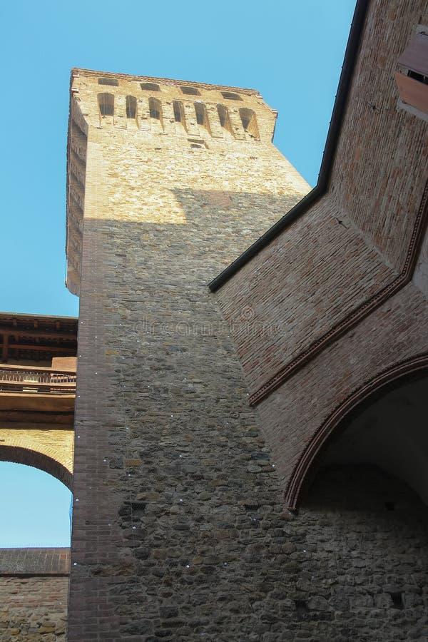Indrukwekkende oude vesting in Vignola, royalty-vrije stock fotografie