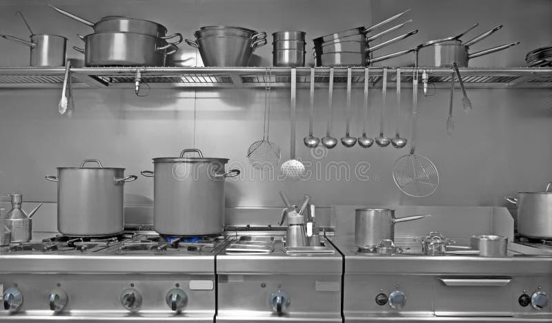 indrustrial кухня стоковое изображение