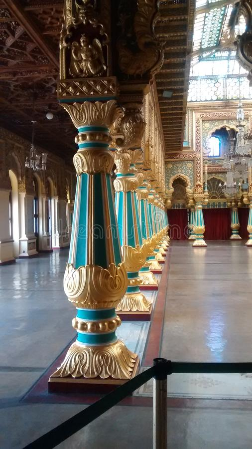 indu madhya pałacu orchha pradesh raju mahal rajput styl zdjęcie stock