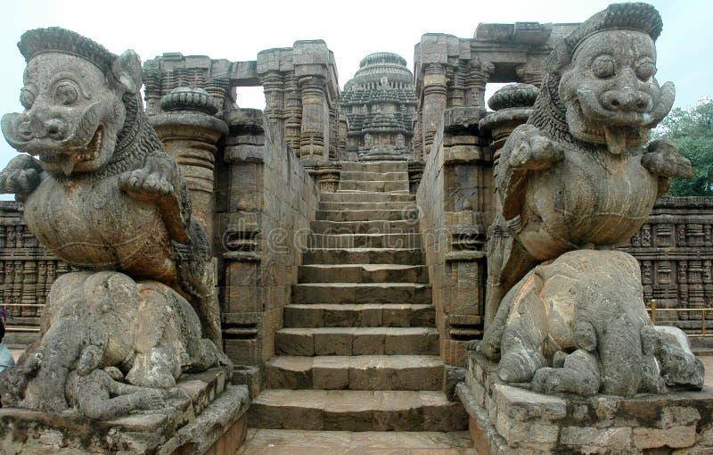 indu Orissa konark świątyni zdjęcie stock