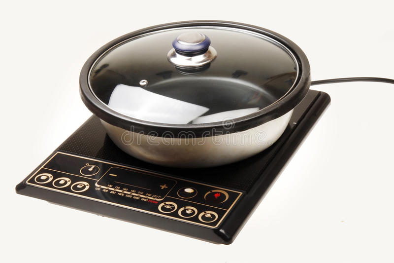 Download Induction cooker stock image. Image of kitchen, home - 14538129