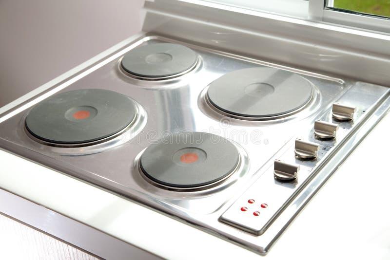 Induktion cooktop Ofen lizenzfreies stockbild