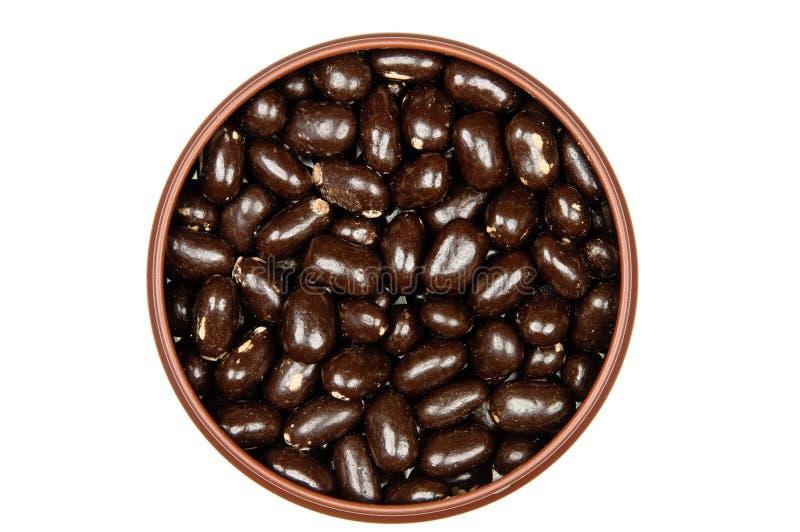 Indulgenza dolce - caramella di cioccolato immagini stock
