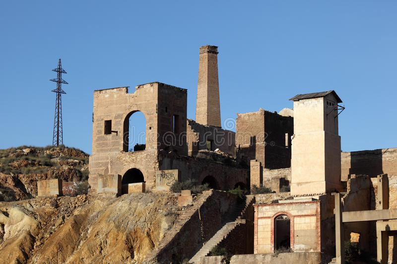 Download Industiral Ruin Of The Old Mine Stock Photo - Image: 27444134