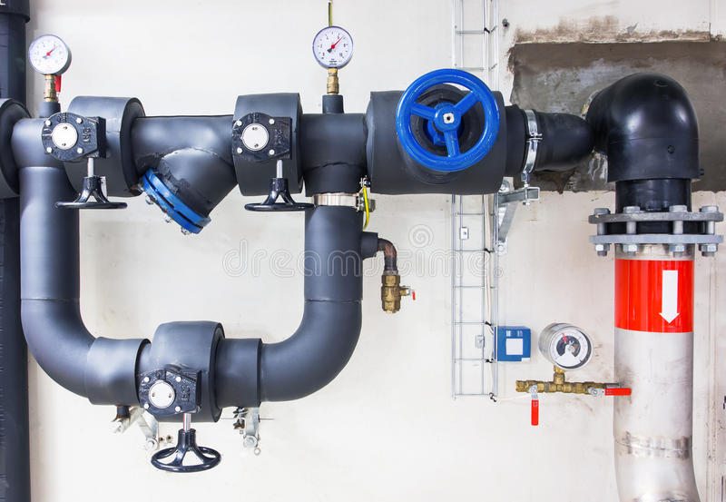 Download Industral Pipes And Valves Royalty Free Stock Photos - Image: 28204388
