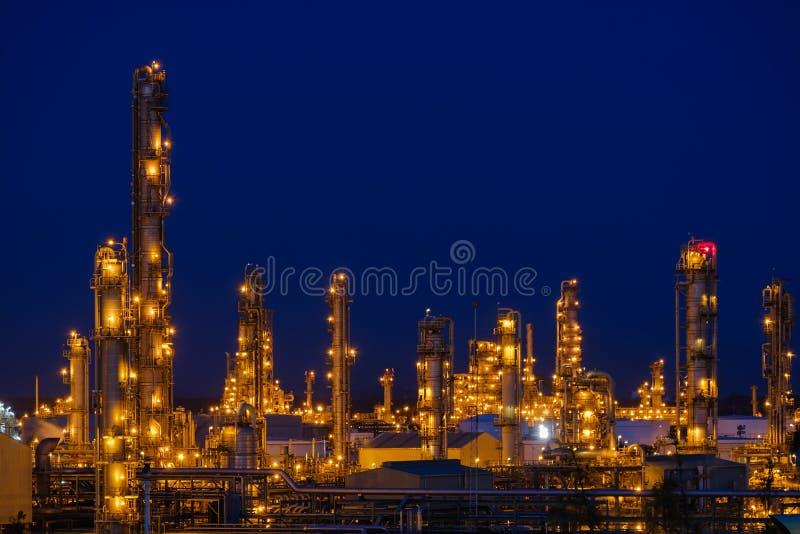 Industriële aardolie royalty-vrije stock foto