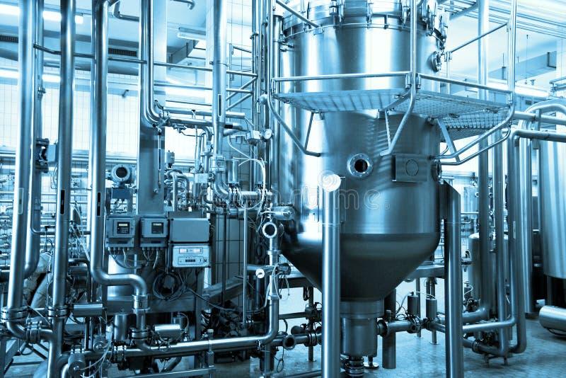 Industriële achtergrond royalty-vrije stock afbeelding