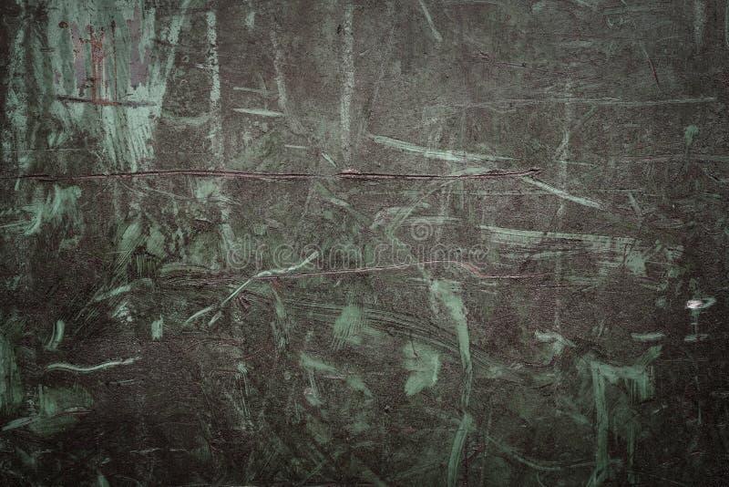 Industriële achtergrond met roest op oude ijzerplaat stock afbeelding
