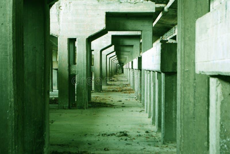 Industriële archeologie stock afbeelding