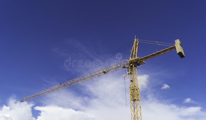 Industriële bouwkranen royalty-vrije stock fotografie