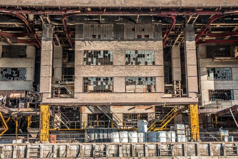 Industriële chemische installatie royalty-vrije stock afbeeldingen