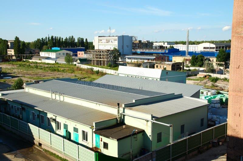 Industriële district#4 royalty-vrije stock afbeeldingen