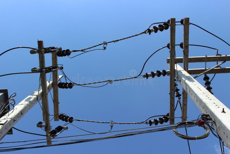 Industriële elektroachtergrond stock afbeelding