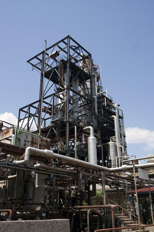 Industriële faciliteit royalty-vrije stock foto