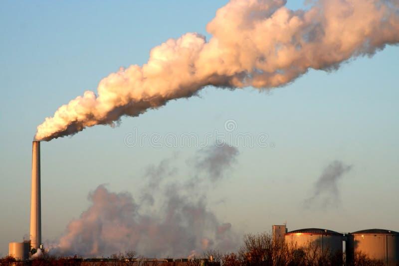 Industriële hemel stock afbeeldingen