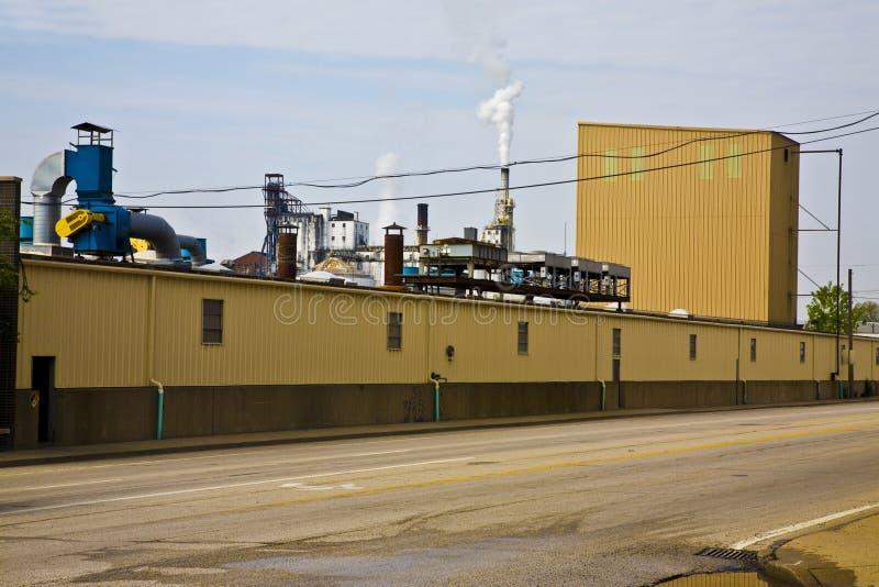 Industriële Horizon royalty-vrije stock afbeelding