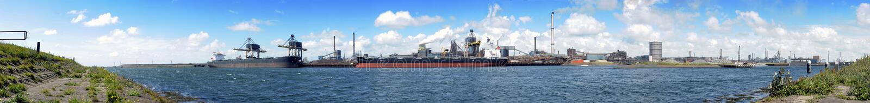 Industriële Horizon royalty-vrije stock foto's