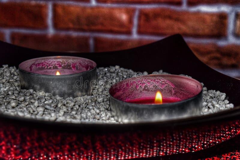 Industriële kaarsen stock fotografie