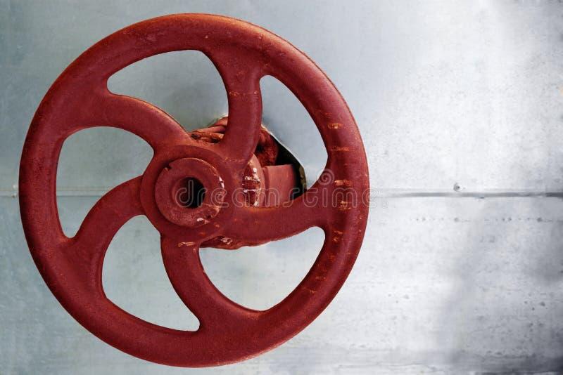 Industriële klep stock afbeelding