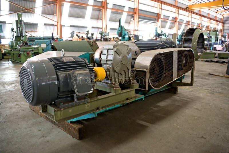 Industriële Machineries bij een Gieterij royalty-vrije stock foto's